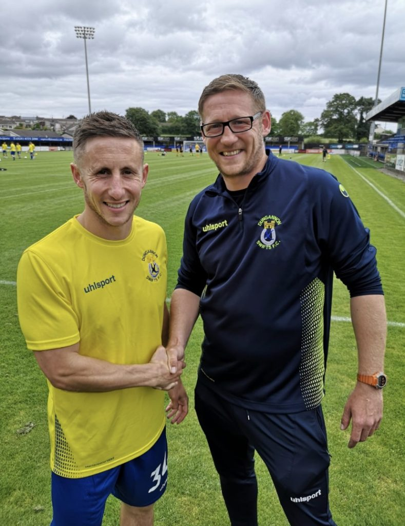 NEW SIGNING | Striker Signs for Swifts – Dungannon Swifts FC